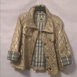 BURBERRY LONDON QUILTED JACKET SIZE XS